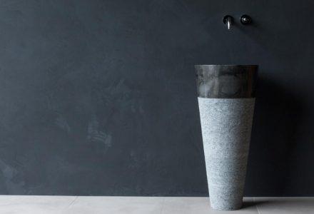 Waschtischsäule aus Marmor 40x40x90cm